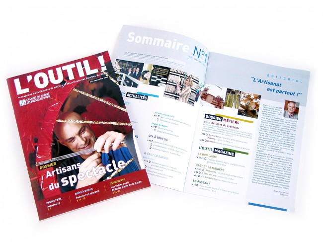 """création du № 0 du magazine """"l'Outil !"""""""