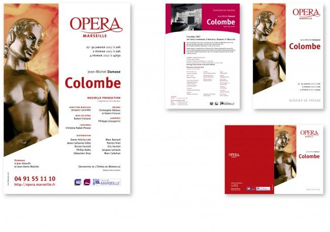 affiche, dossier de presse et invitation