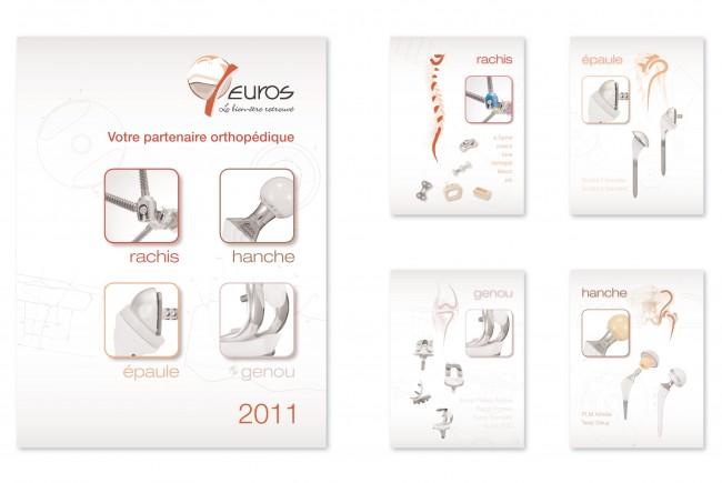 Création de l'agenda 2011 de la société