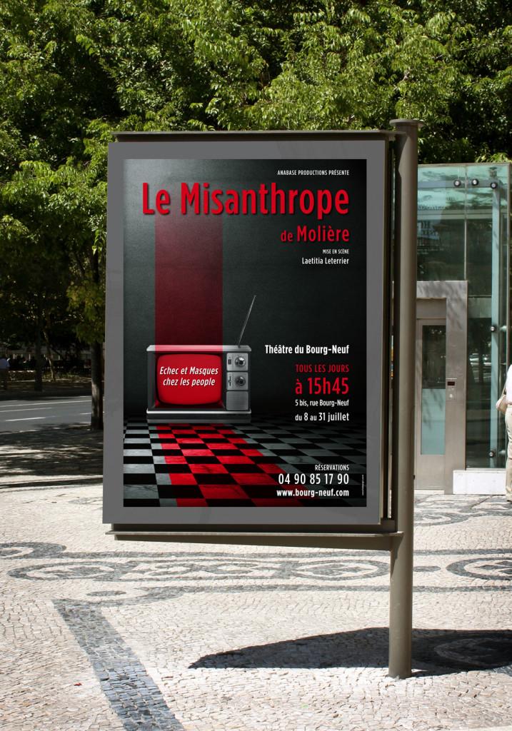 Affiche Le MIsanthrope 4